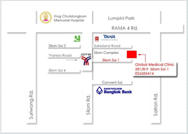 Global Medical Clinic's Map